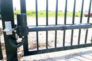 установка автоматических ворот